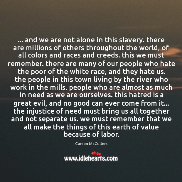 … and we are not alone in this slavery. there are millions of Image