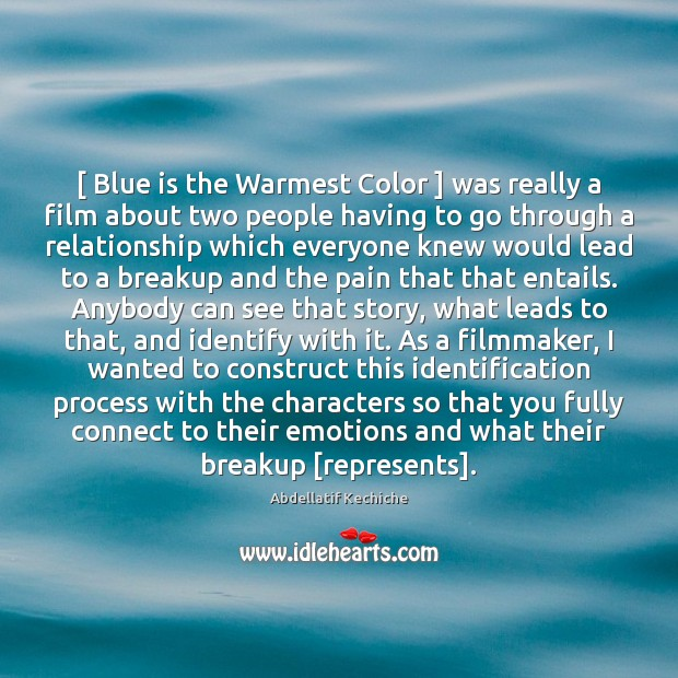 Image, [ Blue is the Warmest Color ] was really a film about two people