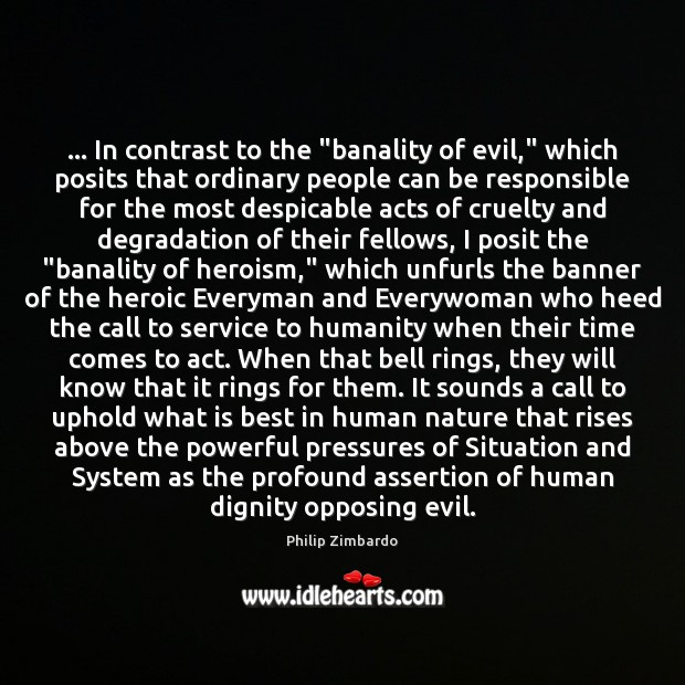 the banality of systemic evil analysis Holes of oblivion: the banality of radical evil peg birmingham this essay offers a reflection on arendt's notion of radical evil, arguing that her later.