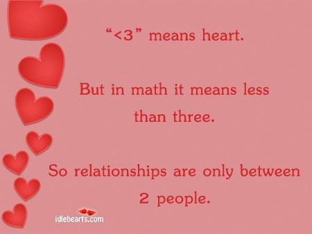 love relationship between three people