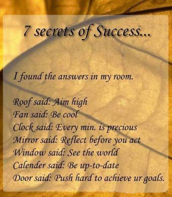 7 secrets to success in life group