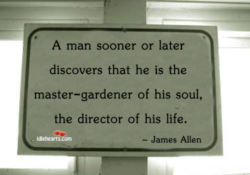 A man sooner or later discovers that he is the Image