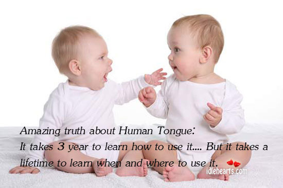 Amazing Truth About Human Tongue