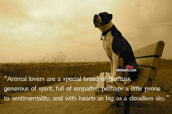 Animal Lover Quotes. QuotesGram