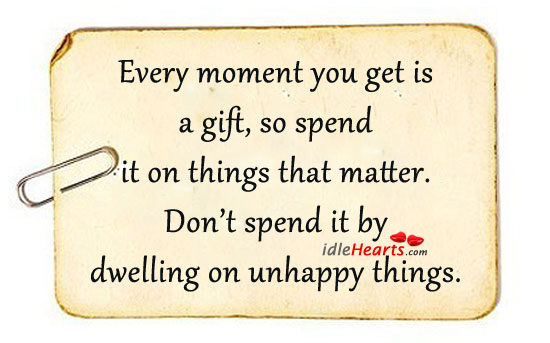Every Moment You Get is a Gift