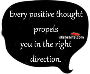 Think Positively.