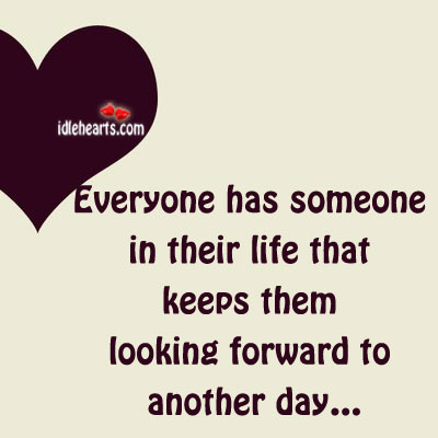 Everyone Has Someone In Their Life That Keeps…