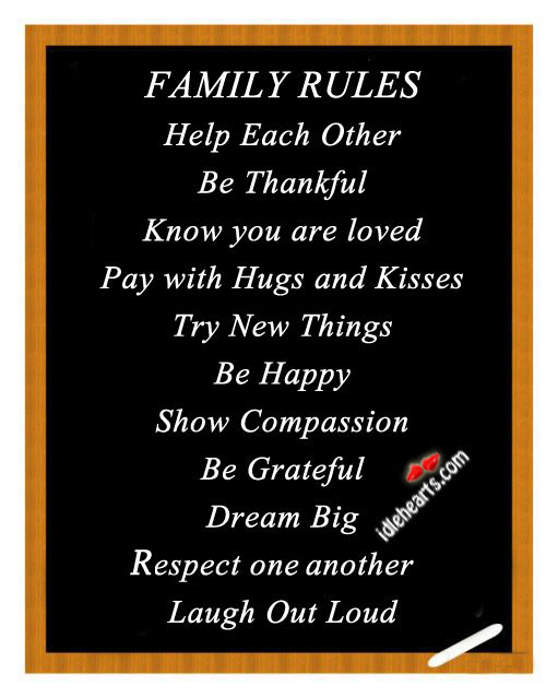 Family rules Image
