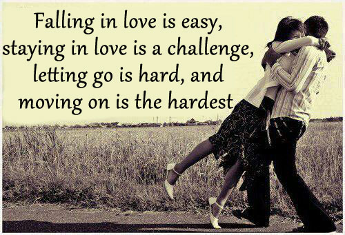 Falling in Love Is Easy, Staying In Love Is A Challenge…