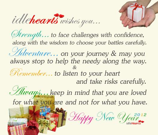Image, Happy new year 2012