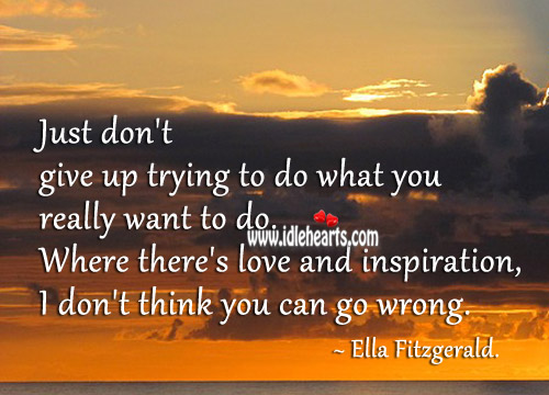 Picture Quote by Ella Fitzgerald