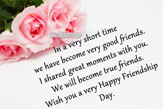Friendship Day Quotes Image