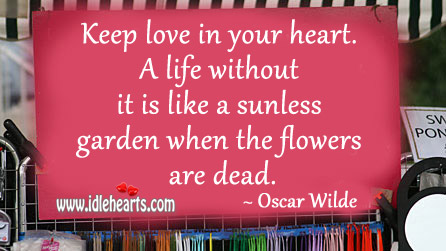 Image, Keep love in your heart.
