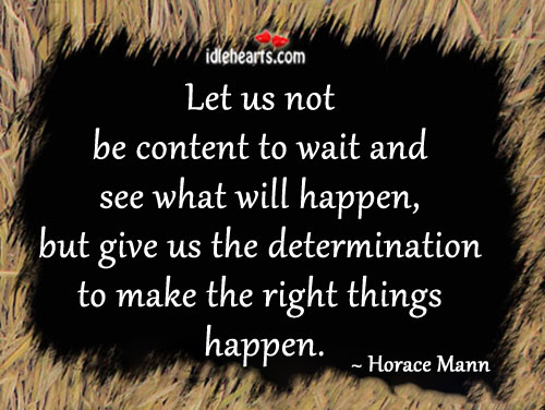 Picture Quote by Horace Mann