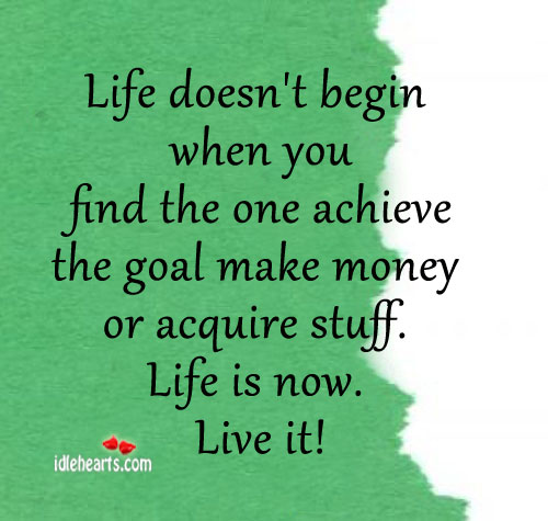Life Doesn't Begin When You Find The One Achieve The……
