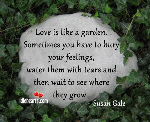 Love Is Like A Garden.