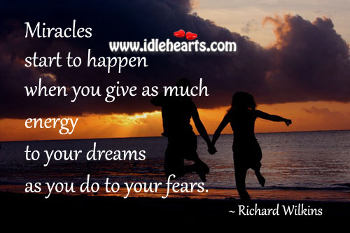 Energy to Your Dreams
