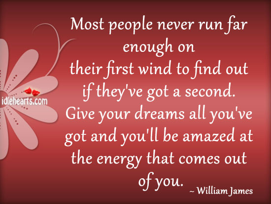 Most People Never Run Far Enough On Their…