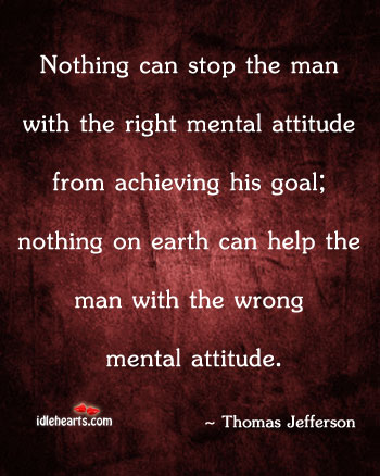 Attitude, Earth, Goal, Help, Man, Nothing, Right, Stop, Wrong