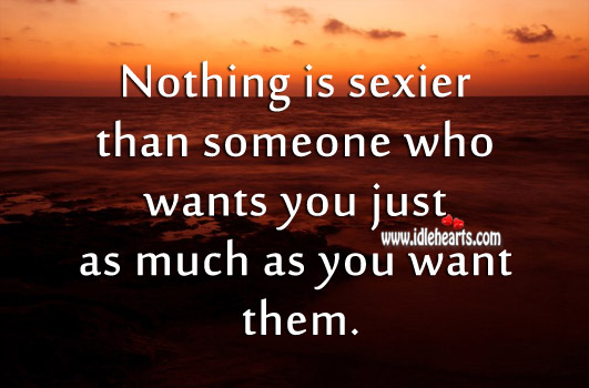 Nothing is Sexier