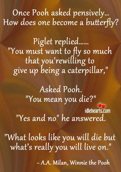 Once Pooh Asked Pensively….