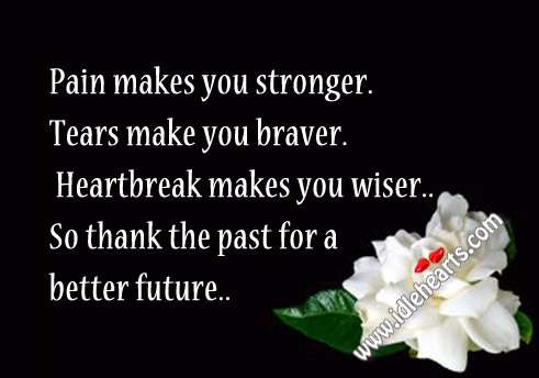 Thank The Past For A Better Future..