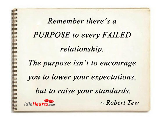 Remember There's a Purpose To Every Failed Relationship.