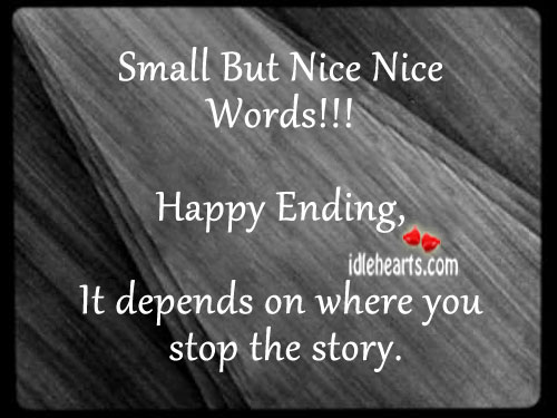Small But Nice Nice Words!!!