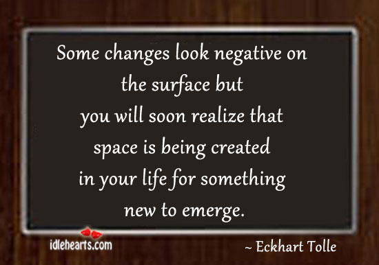 Some Changes Look Negative On The Surface But You Will…