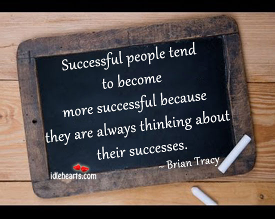 Successful People Tend To Become More Successful…