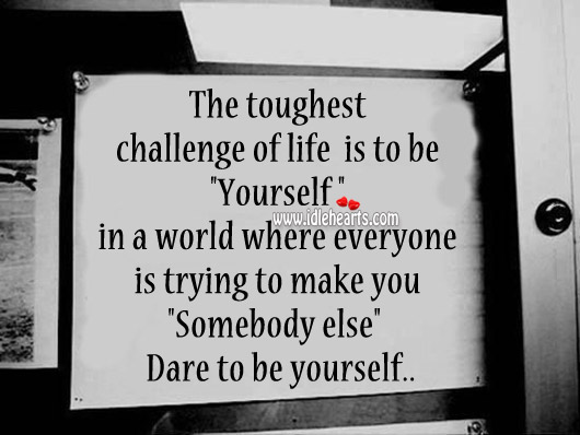 Be Yourself Quotes Image