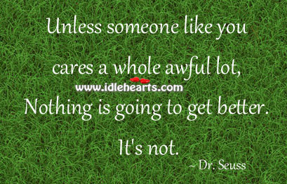 Unless Someone Like You Cares