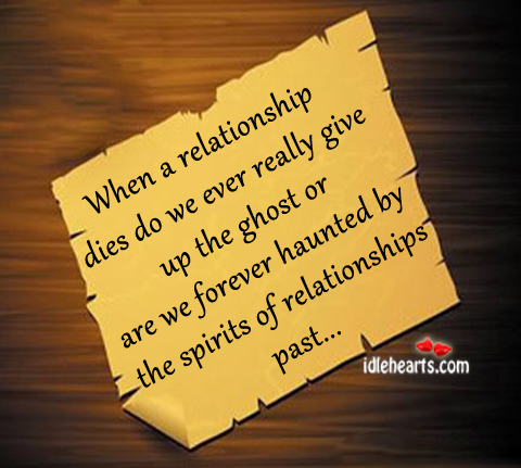 When A Relationship Dies Do We Ever Really Give…