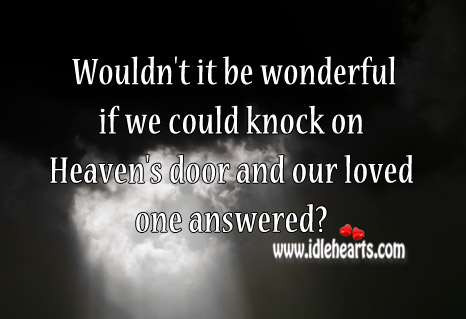 Wouldn't It Be Wonderful