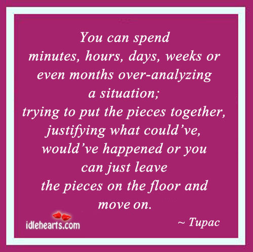 You Can Spend Minutes, Hours, Days, Weeks Or Even…