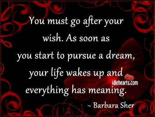 Dream, Life, Meaning, Start, Wish