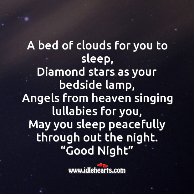 Image, A bed of clouds for you to sleep