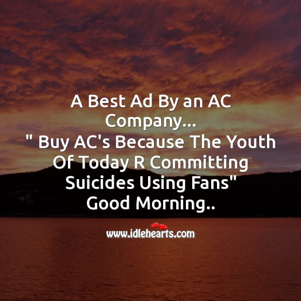 A best ad by an ac company Image