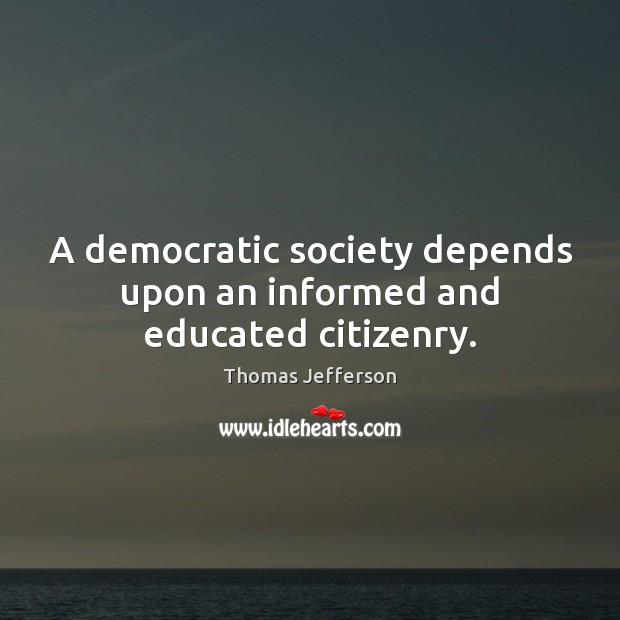 a democratic society Today, the democratic society (demsoc) the democratic society is an international non-profit association registered in belgium as the democratic society.