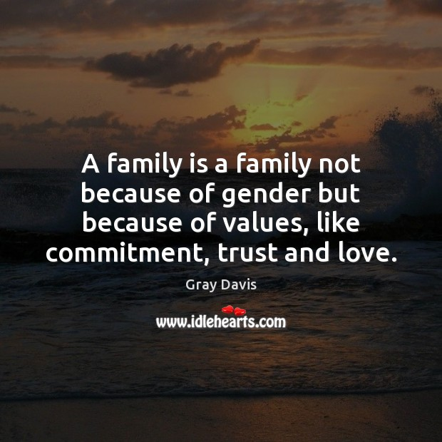 A family is a family not because of gender but because of Image