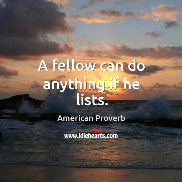 American Proverbs