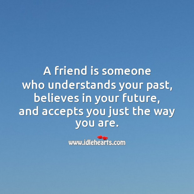 A friend is someone Friendship Day Messages Image