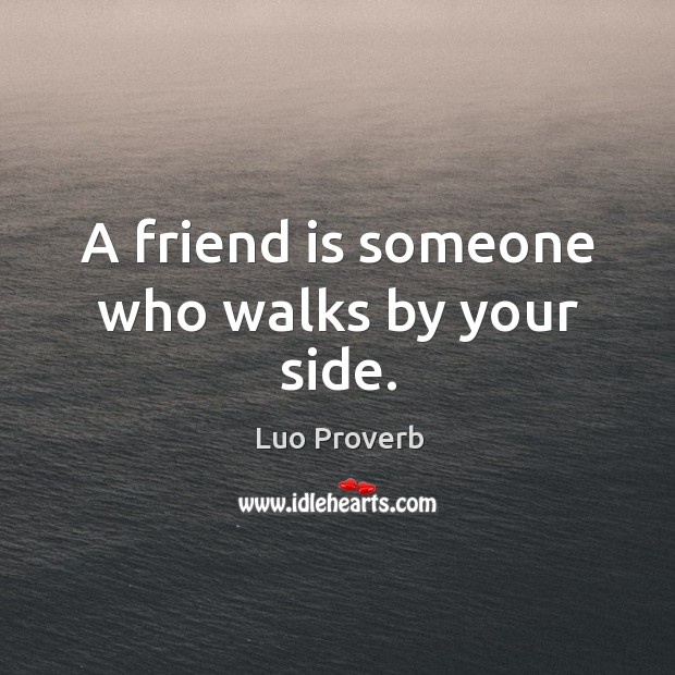 Luo Proverbs