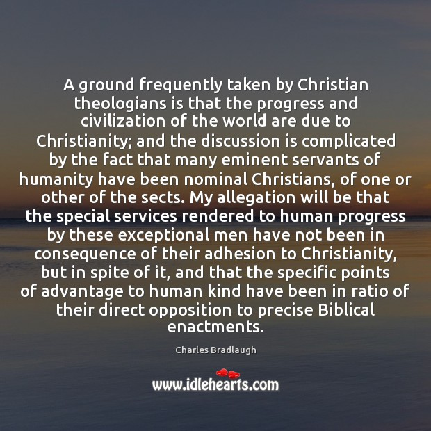 Image, A ground frequently taken by Christian theologians is that the progress and