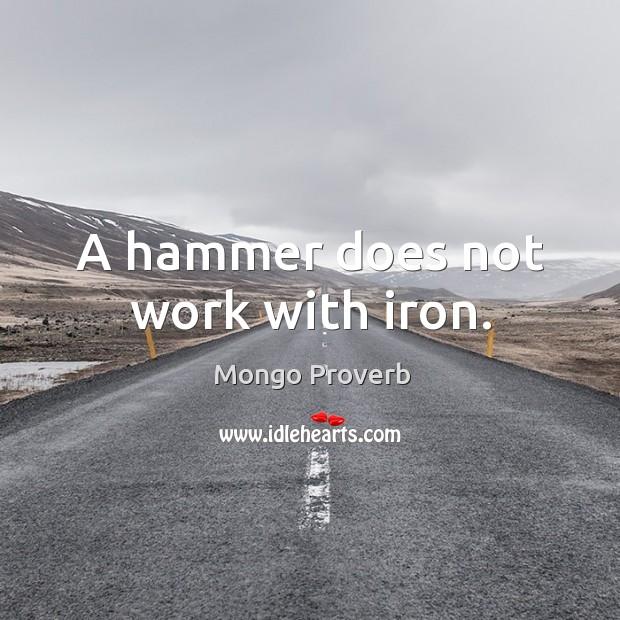 Mongo Proverbs