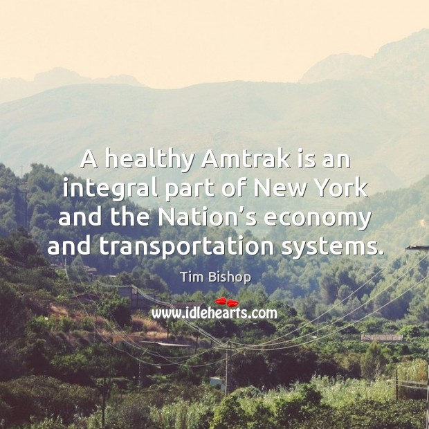Image, A healthy amtrak is an integral part of new york and the nation's economy and transportation systems.