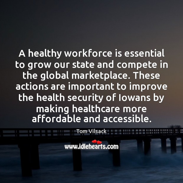 Image, A healthy workforce is essential to grow our state and compete in