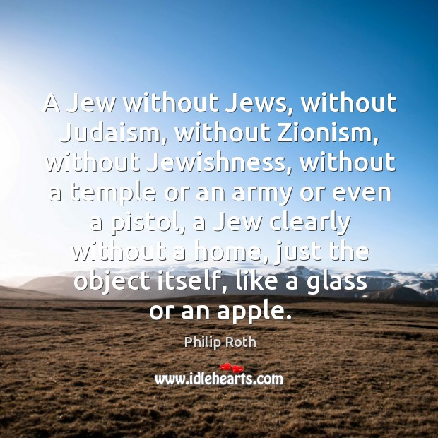 A jew without jews, without judaism, without zionism, without jewishness Image