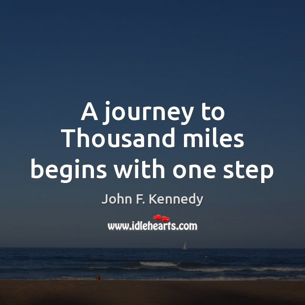 Image, A journey to Thousand miles begins with one step