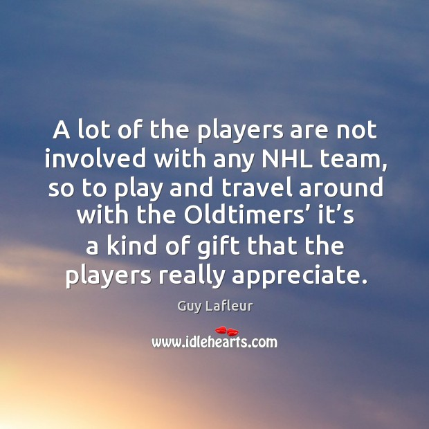 Image, A lot of the players are not involved with any nhl team